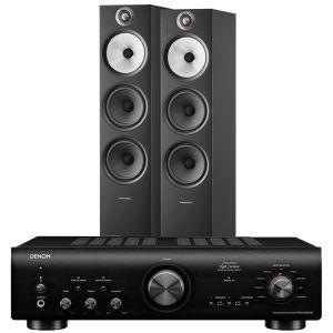 Denon PMA-800NE Integrated Amplifier with Bowers & Wilkins 603 S2 Floorstanding Loudspeakers