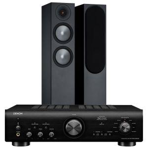 Denon PMA-800NE Integrated Amplifier with Monitor Audio Bronze 200 Speakers (6th Gen)