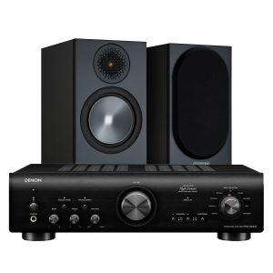 Denon PMA-800NE Integrated Amplifier with Monitor Audio Bronze 50 Speakers (6th Gen)
