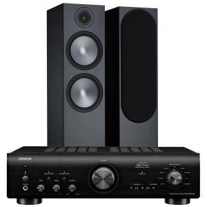 Denon PMA-800NE Integrated Amplifier with Monitor Audio Bronze 500 Speakers (6th Gen)