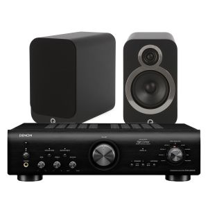 Denon PMA-800NE Integrated Amplifier with Q Acoustics Q 3020i Speakers