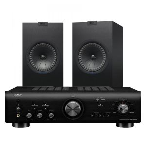 Denon PMA-800NE Integrated Amplifier with KEF Q350 Speakers
