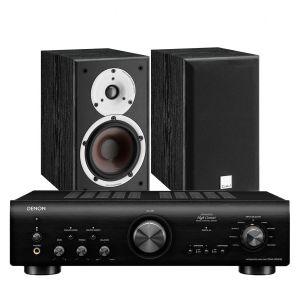 Denon PMA-800NE Integrated Amplifier with Dali Spektor 2 Bookshelf Speakers