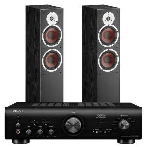 Denon PMA-800NE Integrated Amplifier with Dali Spektor 6 Floorstanding Speakers