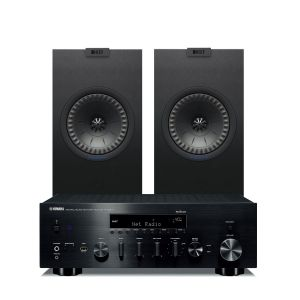 Yamaha R-N803D Amplifier with KEF Q150 Speakers