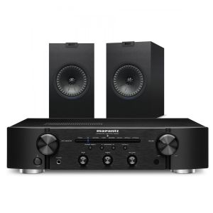 Marantz PM6007 Integrated Amplifier with KEF Q150 Bookshelf Speakers