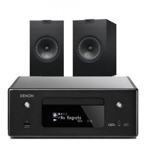 Denon CEOL N11DAB  Hi-Fi-Network CD Receiver with KEF Q150 Speakers