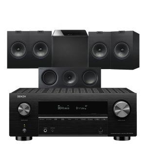 Denon AVC-X3700H Amplifier with KEF Q150 AV Speaker Pack