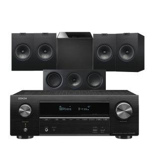 Denon AVR-X1600H DAB AV Receiver with KEF Q150 AV Speaker Pack