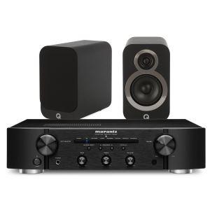 Marantz PM6007 Integrated Amplifier with Q Acoustics Q3010i Bookshelf Speakers