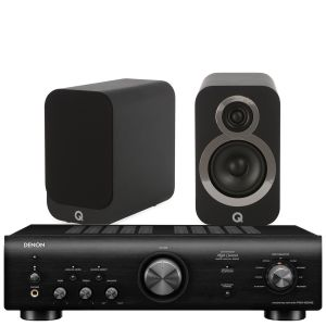 Denon PMA-600NE Integrated Amplifier with Q Acoustics Q3010i Speakers
