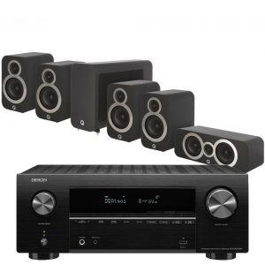 Denon AVR-X2700H AV Receiver with Q Acoustics 3010i Cinema Pack