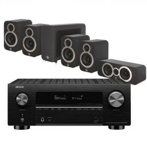 Denon AVC-X3700H Amplifier with Q Acoustics 3010i Cinema Pack