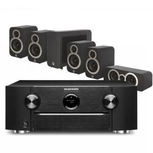 Marantz SR6015 9.2ch 8K AV Amplifier with Q Acoustics 3010i Cinema Pack