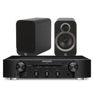 Marantz PM6007 Integrated Amplifier with Q Acoustics 3020i Bookshelf Speakers