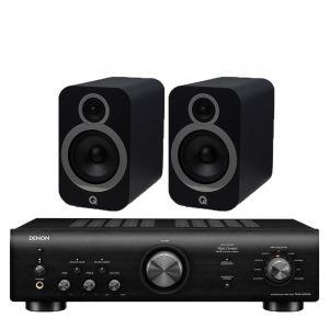 Denon PMA-600NE Integrated Amplifier with Q Acoustics 3030i Bookshelf Speakers