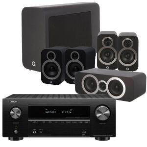 Denon AVR-X2700H AV Receiver with Q Acoustics 3030i AV Speaker Pack