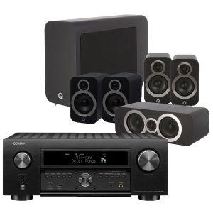 Denon AVC-X6700H 11.2 AV Amplifier with Q Acoustics 3030i AV Speaker Pack