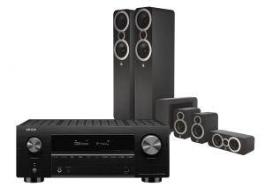 Denon AVC-X3700H Amplifier with Q Acoustics 3050i Cinema Pack