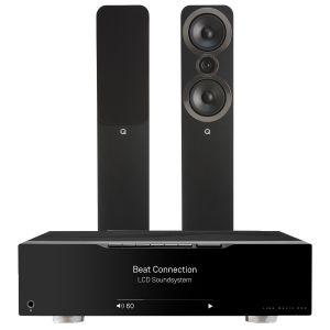 Linn Majik DSM with Q Acoustics 3050i Floorstanding Speakers