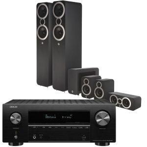 Denon AVR-X2700H AV Receiver with Q Acoustics 3050i Cinema Pack