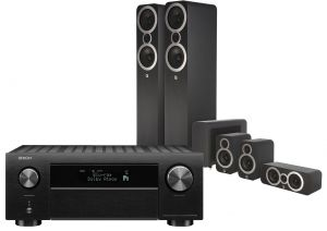 Denon AVC-X4700H AV Amplifier with Q Acoustics 3050i Cinema Pack