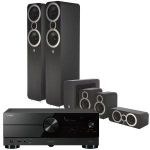 Yamaha RX-A2A AV Receiver with Q Acoustics 3050i Cinema Pack
