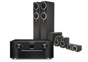 Marantz SR8015 11.2ch 8K AV Amplifier with Q Acoustics 3050i Cinema Pack