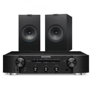 Marantz PM6007 Integrated Amplifier with KEF Q350 Bookshelf Speakers