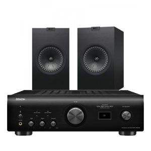 Denon PMA-1600NE Integrated Amplifier with KEF Q350 Bookshelf Speakers