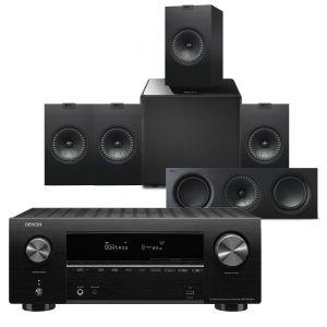 Denon AVR-X2700H AV Receiver with KEF Q350 AV Speaker Pack