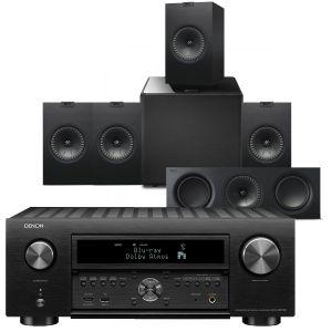 Denon AVC-X6700H 11.2 AV Amplifier with KEF Q350 AV Speaker Pack