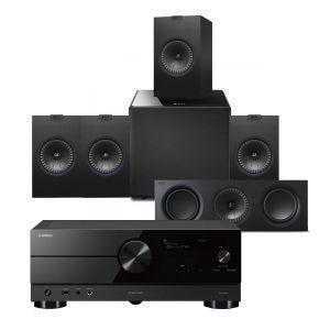Yamaha RX-A2A AV Receiver with KEF Q350 AV Speaker Pack