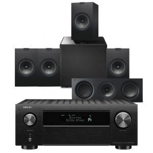 Denon AVC-X4700H AV Amplifier with KEF Q350 AV Speaker Pack