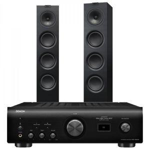 Denon PMA-1600NE Integrated Amplifier with KEF Q550 Floorstanding Speakers