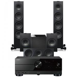 Yamaha RX-A2A AV Receiver with KEF Q550 AV Speaker Pack