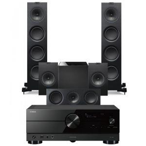 Yamaha RX-A2A AV Receiver with KEF Q750 AV Speaker Pack