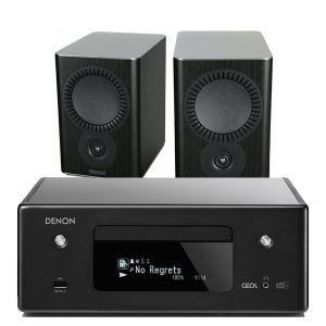 Denon CEOL N11DAB  Hi-Fi-Network CD Receiver with Mission QX-2 Bookshelf Speakers