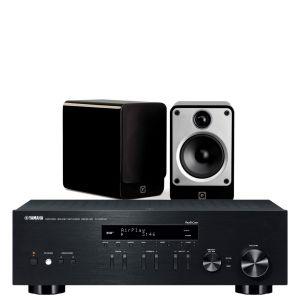 Yamaha R-N303D Hi-Fi Receiver with Q Acoustics Concept 20 Bookshelf Speakers