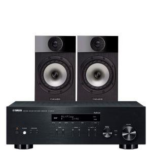 Yamaha R-N303D Hi-Fi Receiver with Fyne Audio F300 Bookshelf Speakers
