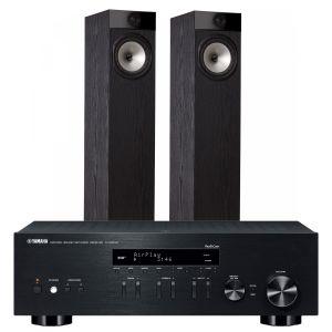 Yamaha R-N303D Hi-Fi Receiver with Fyne Audio F302 Floorstanding Speakers
