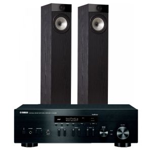 Yamaha R-N402D with Fyne Audio F302 Floorstanding Speakers