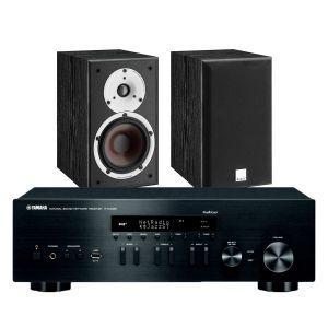 Yamaha R-N402D with Dali Spektor 2 Bookshelf Speakers