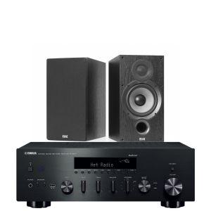 Yamaha R-N602 with Elac Debut B6.2 Bookshelf Speakers