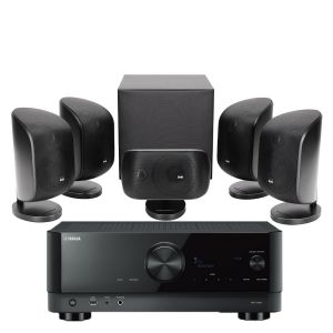 Yamaha RX-V4A AV Receiver with Bowers & Wilkins MT-50 Home Theatre System