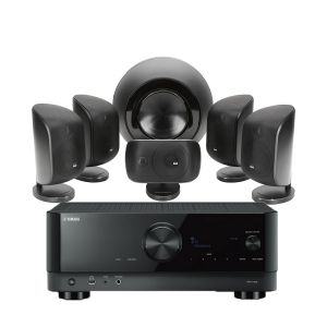Yamaha RX-V4A AV Receiver with Bowers & Wilkins MT-60D Home Theatre System