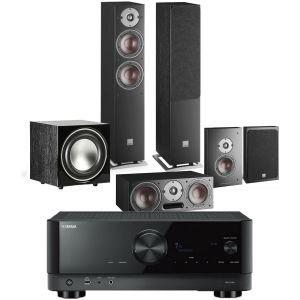 Yamaha RX-V4A AV Receiver with Dali Oberon 5 AV Speaker System