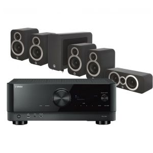 Yamaha RX-V4A AV Receiver with Q Acoustics 3010i Cinema Pack