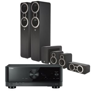 Yamaha RX-V4A AV Receiver with Q Acoustics 3050i Cinema Pack