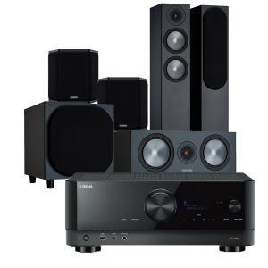 Yamaha RX-V6A AV Receiver with Monitor Audio Bronze 200 AV Speaker Pack